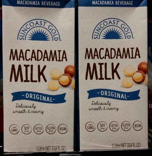 マカダミアミルク