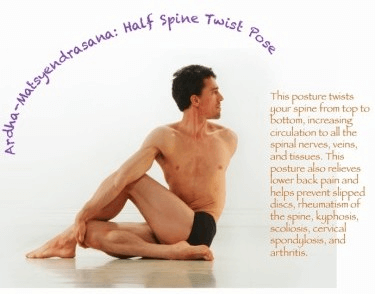 Spine-Twisting Pose